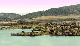 Lake of Arcos de la Frontera Stock Image