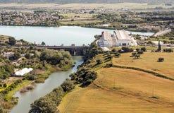 Lake of Arcos de la Frontera Royalty Free Stock Image