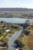Lake of Arcos de la Frontera Stock Photo