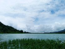 Lake Arenal in Costa Rica stock photo