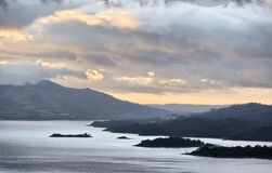 Lake Arenal. From the slopes of the Arenal Volcano, Costa Rica Royalty Free Stock Photo