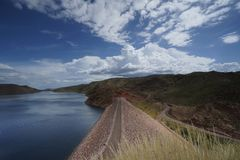 Lake Argyle Dam Royalty Free Stock Photo