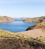 Beautiful Lake Argyle in Western Australia stock photography