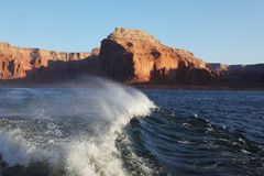 Of the lake. Arizona, USA. Stock Photos