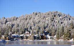 Lake Arrowhead. Winter image at lake Arrowhead, California Stock Images