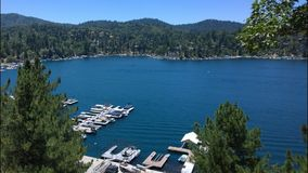 Lake Arrowhead California. Lake Arrowhead, near San Bernardino, CA Stock Image