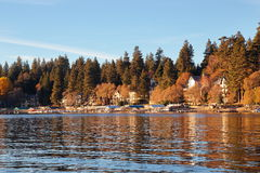 Lake Arrowhead. Peaceful afternoon at Lake Arrowhead Royalty Free Stock Image
