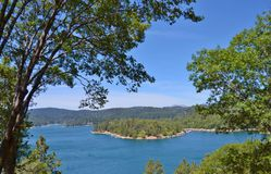 LAKE ARROWHEAD ON A SUMMER DAY Stock Image