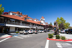 Lake Arrowhead Village Stock Photography