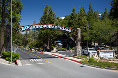 Lake Arrowhead Village Royalty Free Stock Photography