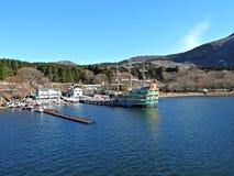 Lake Ashi, Hakone, Japan Royalty Free Stock Image