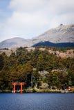 Lake Ashi of Hakone, Japan. Royalty Free Stock Images