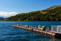Lake Ashi, Hakone Royalty Free Stock Images