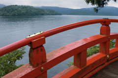 Lake Ashi, Japan Stock Photography