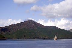 Lake Ashi and Mt. Fuji, Japan Royalty Free Stock Photo