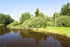 Lake Asnen in Sweden Stock Photo