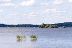 Lake Asnen in Sweden Royalty Free Stock Photos
