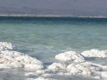 Lake Assal in Djibouti Stock Photography