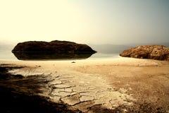 Lake Assal - background Royalty Free Stock Photos