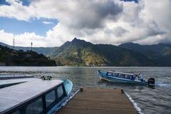 Lake Atitlan royalty free stock photography