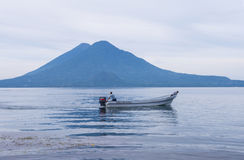 Lake Atitlan Royalty Free Stock Photo