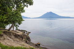 Lake Atitlan Stock Photo