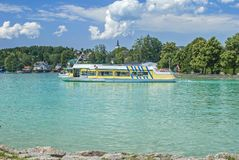 Lake Attersee,Austria Royalty Free Stock Image