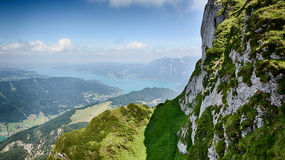 Lake Attersee in Austria Royalty Free Stock Image