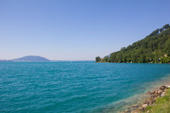 Lake Attersee In Salzkamemrgut Royalty Free Stock Photography