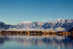 Lake in Austria Stock Images
