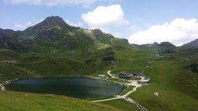 Lake. In Austria Royalty Free Stock Photos
