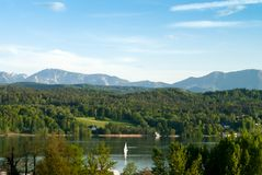 Lake in Austria Royalty Free Stock Images