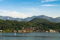 Lake in Austria Stock Images