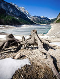 Lake in the Austrian Alps Stock Photography