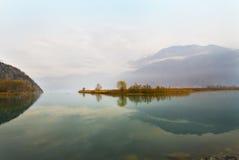 Lake in autumn Stock Photo