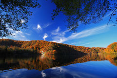 Lake in autumn Stock Image