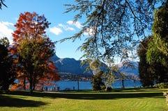 Lake autumn Stock Images