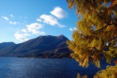 Lake autumn Stock Photography