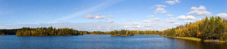 Lake in autumn Royalty Free Stock Photo