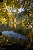 Lake during autumn Stock Image