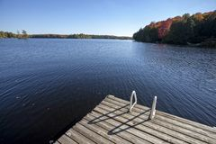 Lake in Autumn Royalty Free Stock Photography
