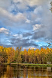 Lake in the autumn Royalty Free Stock Photography