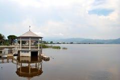 Lake av Massaciuccoli Royaltyfri Fotografi