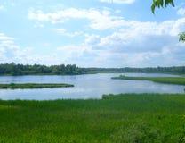 Lake av träna Arkivbild