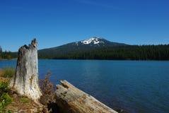 Lake av träna, Oregon Arkivbilder