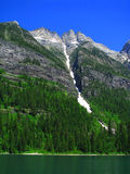 Lake Avalanche. In Glacial national park in Montana stock photos