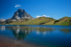 Lake of Ayous in Ossau Stock Photos