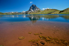 A lake of Ayous in Ossau Royalty Free Stock Photography