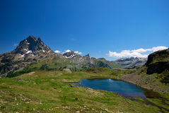 Lake of Ayous in Ossau Royalty Free Stock Photography