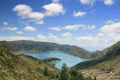 Lake in Azores Stock Photos